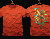 Design. T-Shirts Plants. Zen & Co Atelier Design.