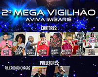 Flyer/Panfleto 2º Mega Vigilhão