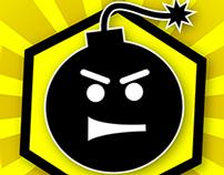 Hexplosion Minesweeper