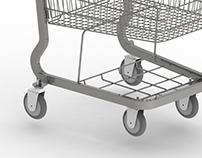 Modelado de Carrito de Supermercado