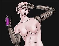 Venus. T-shirt design