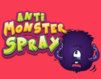 Label for Monsters Spray