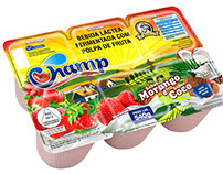 Design Embalagens - Champ Laticínios
