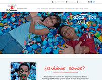Diseño Web Organización Alas Solidarias