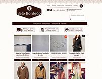 E-commerce e Identidade Visual (Belo Bordado)