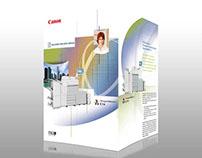 Diseño de brochure Canon