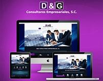 Desarrollo web para despacho contable