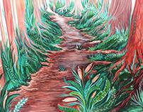 El bosque de Elizabeth / Elizabeth´s Forest . Mural