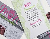 Wedding invitation M&N
