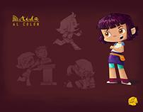"""""""Aida al Colon"""" Concept Art y Diseño de Personajes"""
