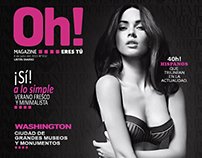 Diseño Editorial - Propuesta Oh MAGAZINE