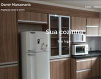 Site Osmir Marcenaria