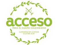// Acceso para el campo colombiano //