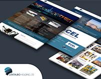 Logo design and website built in Wordpress CMS