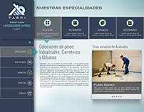 Diseño WEB TAEPI
