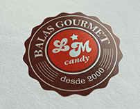 Logotipo LM Candy