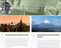 One Page Blog