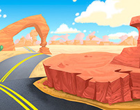Backgrounds for animations | 2D
