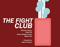 Fight club, based Saul Bass