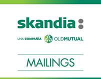 Mailings informativos SKANDIA Colombia