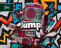 Jump! Adobe Dimension