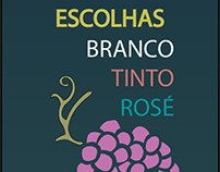 - Postagem Mobile - Frase + Tipos de Vinho -