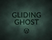 Tema WP: Gliding Ghost / Gliding Ghost WP Theme