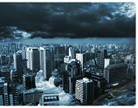 Diluvio en la ciudad