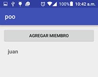 Aplicacion sencilla en android