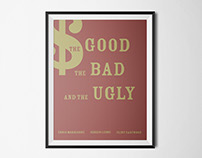 "Posters ""The Good, The Bad and the Ugly"""