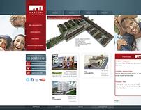 Site e CRM - Marconi Construtora