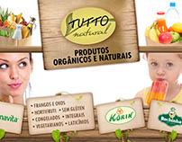 Outdoor para produtos naturais e orgânicos