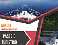Folder Promocional - Melqui Transporte Maritimo