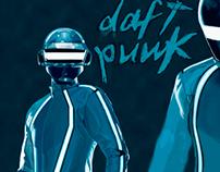 Fan art Daft punk