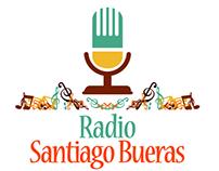 Diseño de logotipo Radio Santiago Bueras