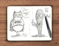 Mascots, Vectors and Illustrations | Ilustrações