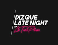 "Oye Canal 7 - Logo para programa ""Dizque Late Night"""