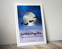 Peter Pan Birthday Posters