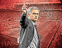 Welcome Mourinho - Football Art