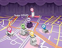 Vivo - Mapa Teatro