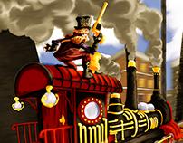 Full Steam Ahead.