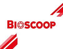 Bioscoop: Manual de marca y aplicación de marca.