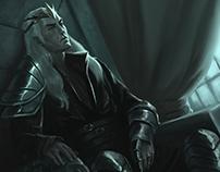 O Príncipe Negro | Ilustração para Capa de Livro