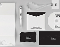 Branding, logotype, stationery