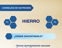 Consejos de nutrición: Hierro Enfa Bebé
