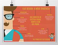 INFOGRÁFICO | Flat Design (Trabalho Acadêmico)