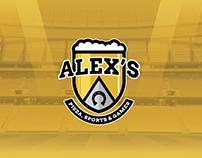 Alex's Sport Bar / Brand