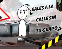 Animacion para telefono Guapo de la marca Cacao