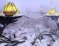 Treehome (Environment Design/Design de ambiente)
