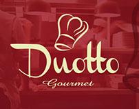 Logomarca, Restaurante Duotto